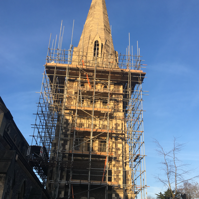 All go for the Spire and Tower