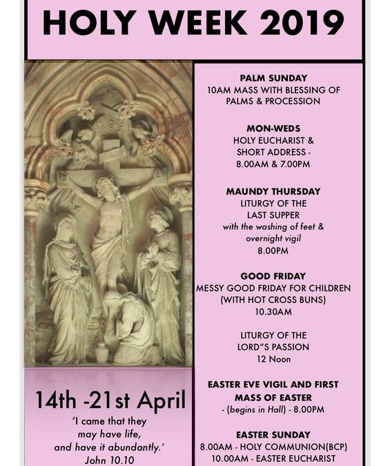 Holy Week & Easter at All Saints' N20